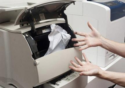 گیر کردن کاغذ